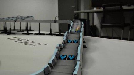 'Wipeout: Quantum', el Scalextric que todos querríamos tener. Espectacular demostración de levitación cuántica en vídeo