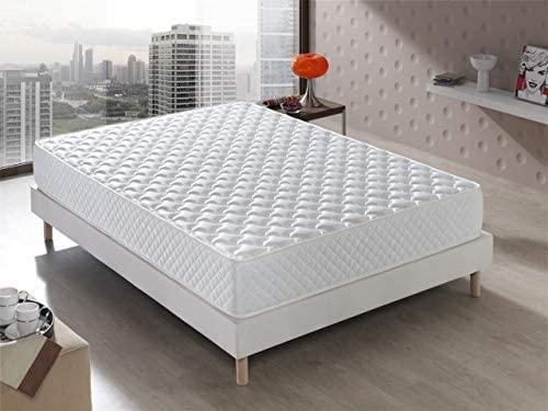 Bellavista Home Colchón Senator Viscoelástico 80x180x20 cm. Confort de Hotel, Reversible (Invierno/Verano). Acogida con firmeza Media, 20 cm de Altura.