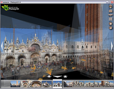 Photosynth, recreaciones 3D con fotografías