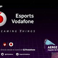 Vodafone presenta su canal de Twitch en el que emitirá contenido de esports propio
