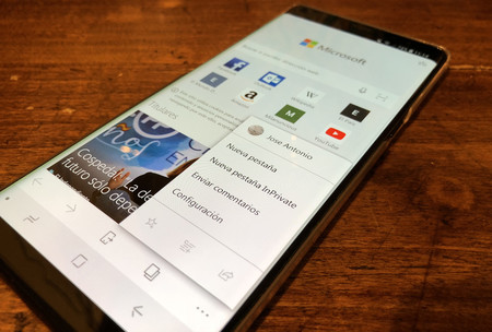 Microsoft Edge para Android se actualiza y ahora permite la lectura de libros comprados en la Tienda de Microsoft