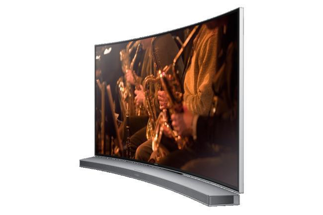Podemos fijar un televisor curvo a la pared?