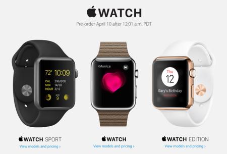 Confirmado: no habrá existencias del Apple Watch más allá de las reservas