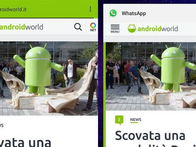 WhatsApp usará Chrome Custom Tabs para abrir enlaces sin pasar por el navegador