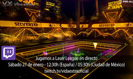 Streaming de la beta de Laser League a las 12:30h [finalizado]