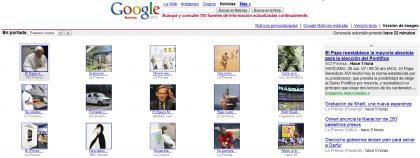 Google News en versión imágenes