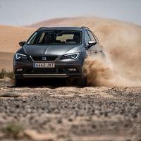 SEAT León X-Perience se atreve en las candentes dunas del Sáhara