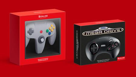 Los catálogos de Nintendo 64 y Sega Mega Drive se unirán a Nintendo Switch Online con sus propios mandos en una nueva suscripción