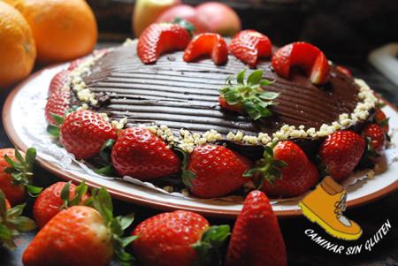 Tarta De Chocolate Dia Del Padre Sin Gluten