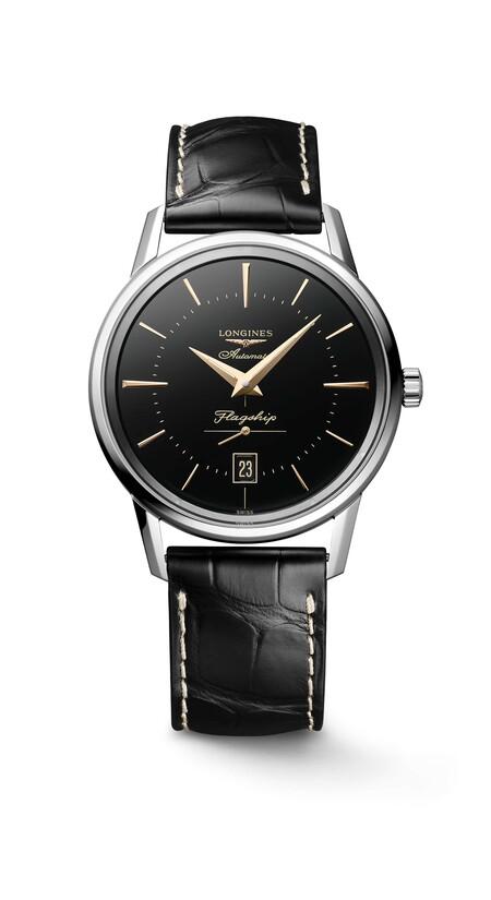 Longines Revive Un Diseno De Los Anos Cincuenta Con Su Nuevo Reloj Flagship Heritage 2