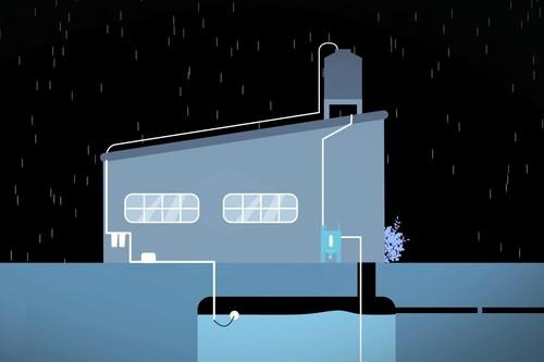'Isla Urbana', así funciona el sistema de agua de lluvia para abastecer a un hogar en México hasta por seis meses
