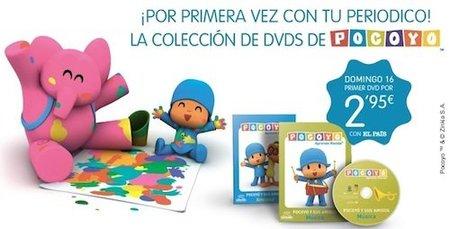 """Colección de DVDs """"Pocoyó y sus amigos"""""""