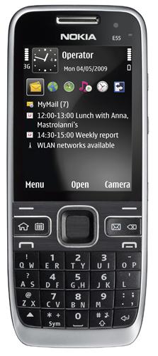 Anunciado el Nokia E55