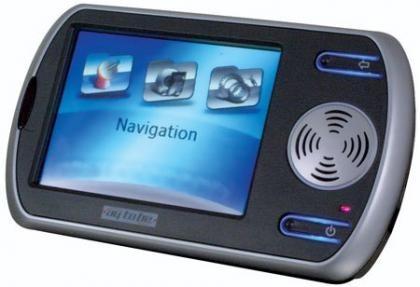Navegador GPS Maplin con mando a distancia