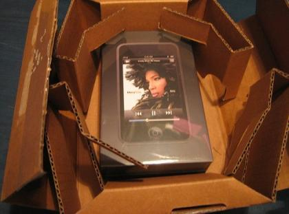 Imagen de la semana: los iPod Touch ya llegan a sus usuarios
