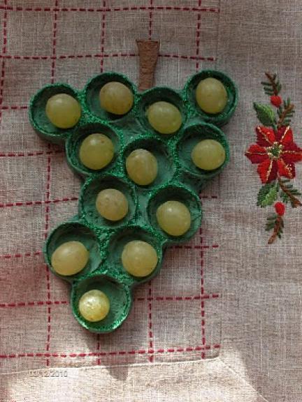 Hazlo tú mismo: una original manera de presentar las uvas en Nochevieja