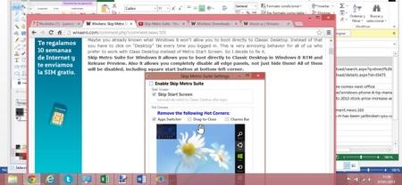 Configura el Escritorio como acceso inicial de tu Windows 8