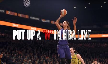 NBA LIVE 18 anuncia sus fichajes estrella: los 12 equipos de la liga de baloncesto femenino estadounidense
