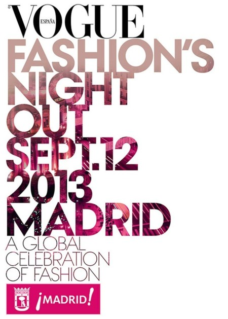 Vogue Fashion's Night Out 2013 Madrid: mucho postureo y pocas compras