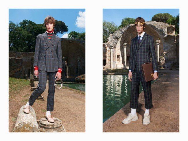 Gucci Mens Resort 2018 Check Suits 3