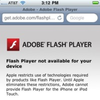 Adobe decide criticar abiertamente la actitud de Apple sobre Flash
