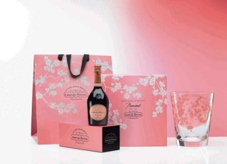 Navidad 2009: edición limitada de Laurent-Perrier Rosé y champañera Baccarat