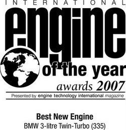 BMW gana el premio al mejor motor del año
