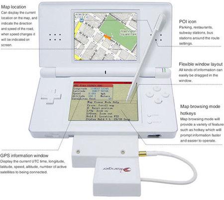El GPS de Nintendo DS Lite