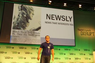 Newsly: ¿Y si tratamos los artículos de noticias como a las personas en Tinder?