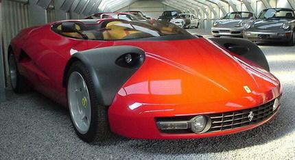 A la venta en eBay el Ferrari Conciso, un prototipo de 1989
