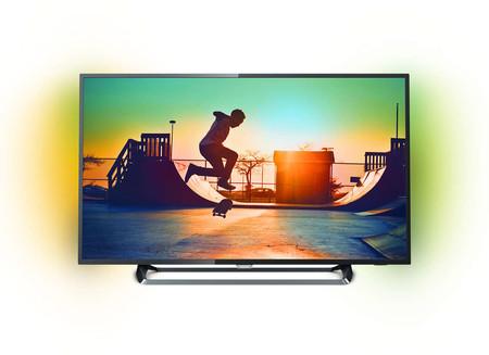 Día Sin IVA MediaMarkt: Smart TV Philips 50PUS6262/12 de 50 pulgadas, con resolución 4K, por 398 euros