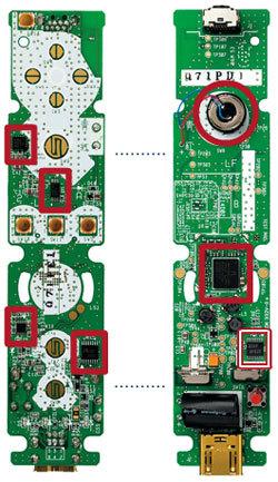 El mando de Wii visto por dentro: nuevos detalles