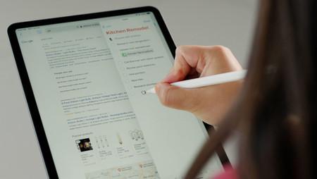 El Pencil mejora su integración con iPadOS 14