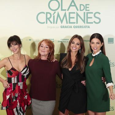 Maribel Verdú, Juana Acosta y Paula Echeverría muestran su propio estilo durante el photocall de 'Ola de Crímenes'