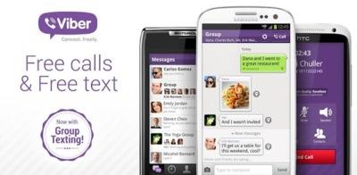 Viber 2.2 para Android ofrece por fin mensajes en grupo y nuevas funcionalidades