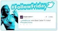 #FollowFriday de Poprosa: Los People's Choice Awards se cocieron en la red