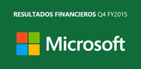 Resultados financieros de Microsoft: Surface sigue al alza, pero la empresa anota pérdidas en total
