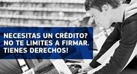 """¿Necesitas un crédito? No te limites a firmar. Tienes derechos: """"para, piensa, actúa"""""""