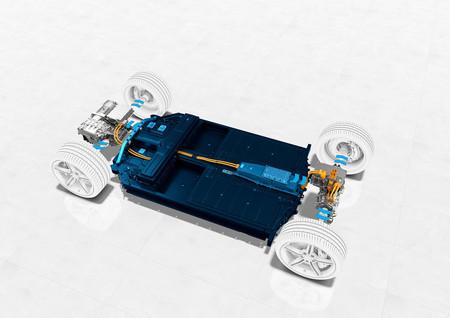 Porsche Taycan batería