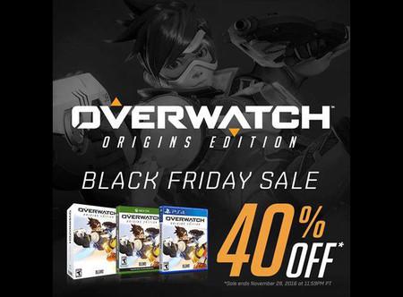 Overwatch también se une a las ofertas del Black Friday con un 40% de descuento con la Origins Edition