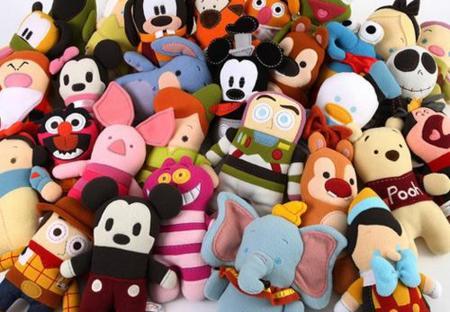 LLegan los Pook-a-Looz, los personajes de Disney en versión Toy