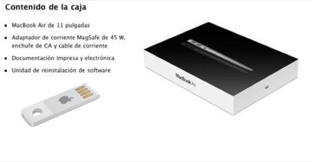 El nuevo producto de Apple: memoria USB con Mac OS X