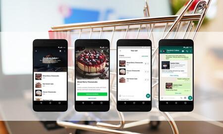 WhatsApp añade una función de 'carrito de la compra', pero aún no podremos realizar el pago desde la app