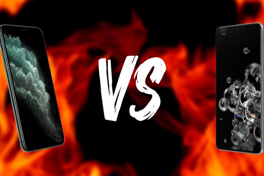 Comparativa Galaxy S20 vs iPhone 11 Pro: así es el nuevo smartphone de Samsung frente al terminal de Apple