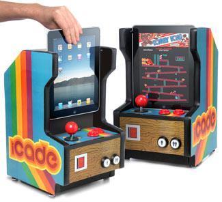 iCade, estupendo cabinet para jugar arcades y el iPad