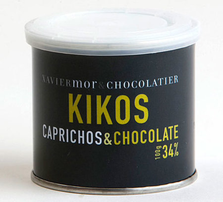 Kikos de chocolate
