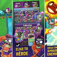 Plants vs. Zombies Heroes, su juego de cartas coleccionables ya disponible en Google Play