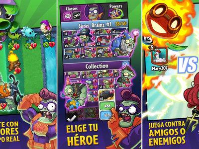 Plants vs. Zombies Heroes, su juego de cartas coleccionables ya disponible en Google Play