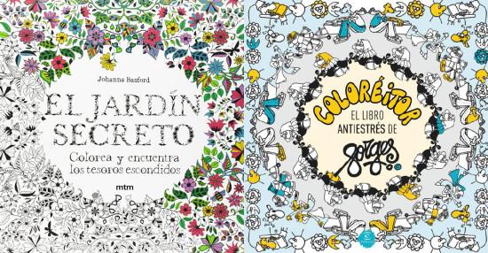 Trendencias d jate de mindfullness y ponte a colorear for El jardin de los libros