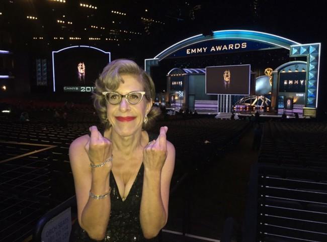 Jackie Hoffman en los Emmy
